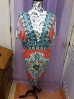 chinese style short dress or long top..xl