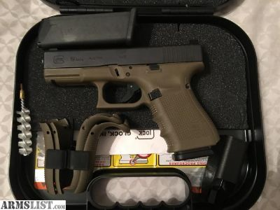 For Sale: Glock 19 Gen 4 OD