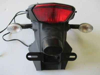 Purchase 2008-2012 KAWASAKI EX 250 NINJA 250R REAR FENDER TAILLIGHT BLINKER ASSEMBLY motorcycle in Cedar Springs, Michigan, US, for US $79.00