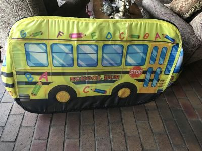 Collapsible school bus