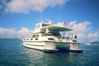 1985 Logic 46 Power Catamaran