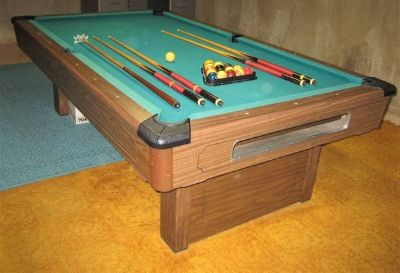Brunswick Bristol 8' Slate Pool Table
