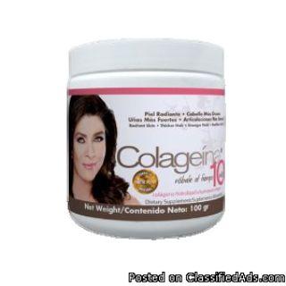 Colageina 10 para el cuidado de la piel
