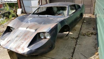 Fiber Fab Avenger GT-12 GT-40 Body and Pan, Parts