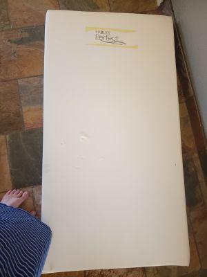 BRAND NEW Sopora dual sided crib mattress $320 NEW