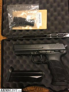 For Sale: HK 45 , 2 mags, case $550