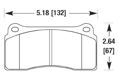Purchase HAWK HB193Z.670 - 08-11 Audi R8 Rear Brake Pads Ceramic motorcycle in Chino, California, US, for US $135.39