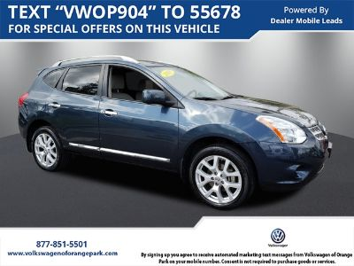 2013 Nissan Rogue S (Graphite Blue Metallic)