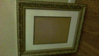 Baroque Gold/Silver Picture Frame