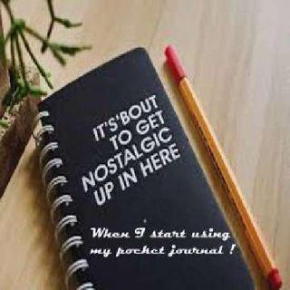Pocket Writing Journal