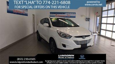 2015 Hyundai Tucson GLS (Winter White)