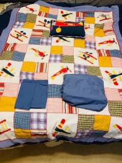Airplane bedding full size