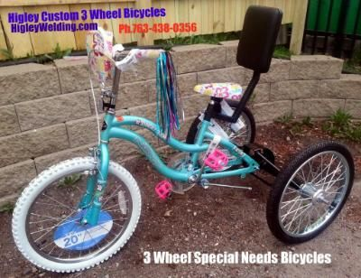 $329, 3 Wheel Bicycles Special Needs
