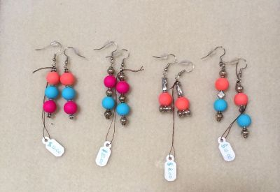 4 Pairs of Earrings for $5