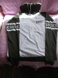 Hooded t shirt good condition