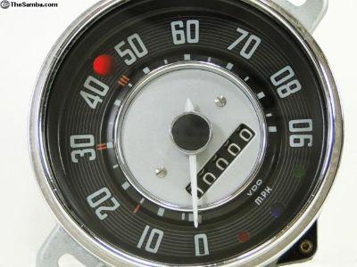 Low Light Speedometer - Karmann Ghia 1956 to 1959