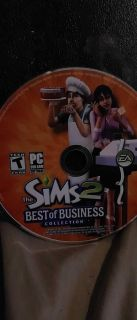 The Sims 2 Best of Business Collection. PC.