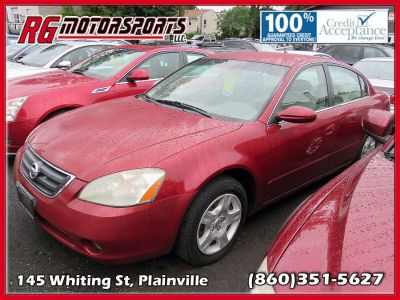 2003 Nissan Altima 2.5 (Red)