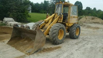 1983 John Deere 544D Wheel Loader
