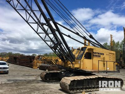 Link Belt LS-418 Lattice Boom Crawler Crane