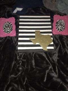 Texas picture frame, will separate