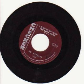 "Bo Diddley - A Book By The Cover You Can't Judge (7"", Single, M/Print)"
