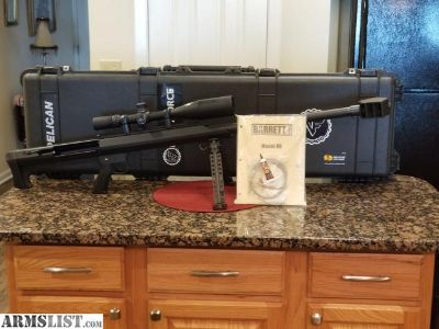For Sale: Barrett 50 Caliber