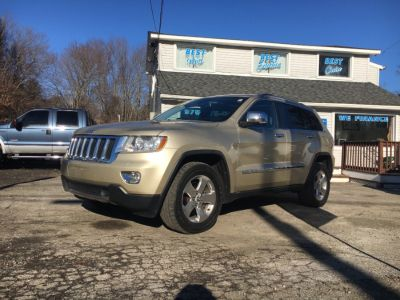 2011 Jeep Grand Cherokee Limited (Gold)