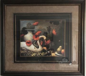 Absolutely Gorgeous High-end Swan Wall Decor