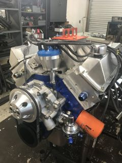 Ford 446 cu. in. small block engine