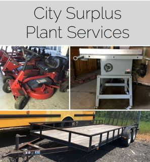 City Surplus Plant Services
