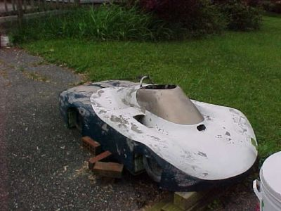 Race car bird bath