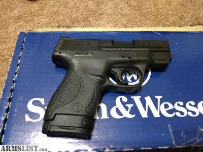 For Sale: S&W M&P9 Shield 7+1/8+1 9mm 3.1