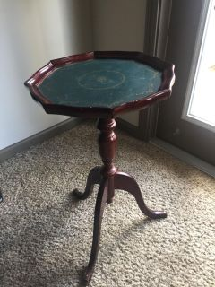 Wooden table/plant stand