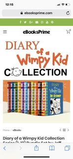 Diary of a Wimpy Kid book series collection