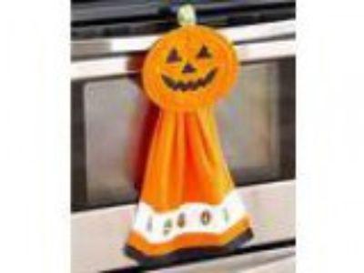 -Pc. Halloween Kitchen Set (Orange Pumpkin)
