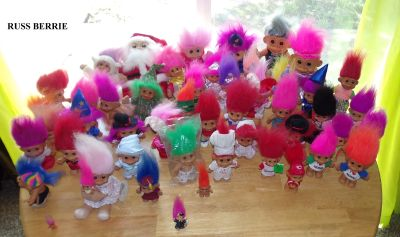 Vintage 85 Troll Doll Collection