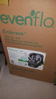 New in box infant carrier car seat