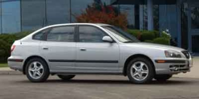 2004 Hyundai Elantra GT (Red)