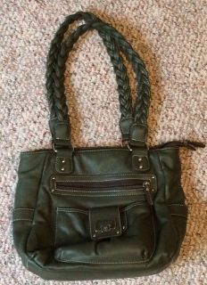 Green Shoulder Purse
