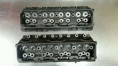 '041 X Chevy cylinder heads