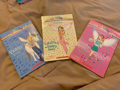 Rainbow Magic lot of three books