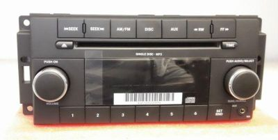 Buy RADIO STEREO AM FM CD MP3 - 2010 CHRYSLER TOWN & COUNTRY P0509113AC motorcycle in Tacoma, Washington, US, for US $63.99