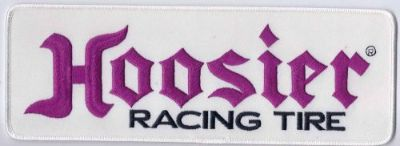 Buy Hoosier Tire Racing Patch Patches 4-1/2 Inches Long Size New Iron On Embroidered motorcycle in Arlington Heights, Illinois, United States, for US $3.92