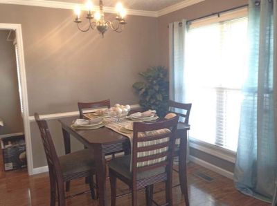BF Meyers high top dining room table