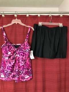 New two piece swimsuit
