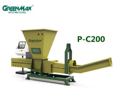 Professional plastic recycling machine of GREENMAX Poseidon series