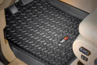 Sell Rugged Ridge 82902.07 - 99-07 Ford F-250 All Terrain Black Floor Liners motorcycle in Suwanee, Georgia, US, for US $89.99