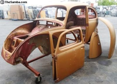 1960 VW Beetle Project