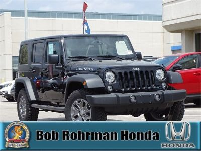 2017 Jeep Wrangler Unlimited Rubicon (Black Clearcoat)